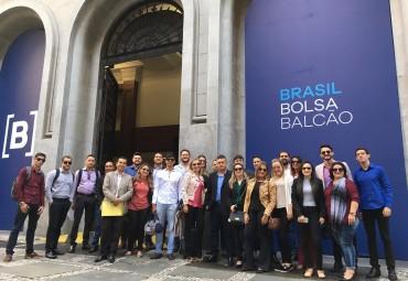 Visitas técnicas em São Paulo - Bolsa de Valores + Santander + Mercadão